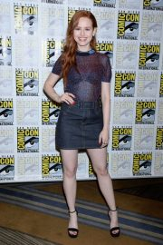 Madelaine Petsch at Riverdale Panel at Comic-con in San Diego 2018/07/21 10