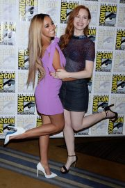 Madelaine Petsch at Riverdale Panel at Comic-con in San Diego 2018/07/21 12