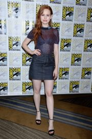 Madelaine Petsch at Riverdale Press Line at Comic-con in San Diego 2018/07/21 4