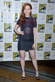 Madelaine Petsch at Riverdale Press Line at Comic-con in San Diego 2018/07/21 5