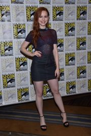 Madelaine Petsch at Riverdale Press Line at Comic-con in San Diego 2018/07/21 6