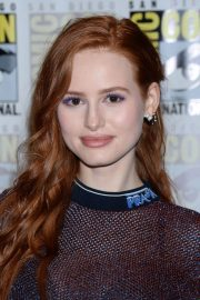 Madelaine Petsch at Riverdale Press Line at Comic-con in San Diego 2018/07/21 10