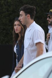 Madison Beer and Zack Bia at Bootsy Bellows Fourth of July Party at Nobu in Los Angeles 2018/07/04 2