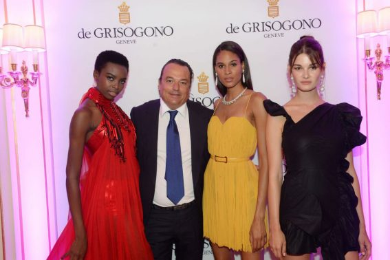 Maria Borges Cindy Bruna and Ophelie Guillermand  at De Grisogono Dinner in Paris 2018/07/03 1