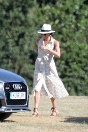 Meghan Markle at Audi Polo Cup in Berkshire 2018/06/30 3