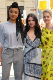 Meghann Fahy Katie Stevens and Aisha Dee at Good Morning America in New York 2018/06/12 2