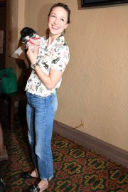 Melissa Benoist at 20th Annual Broadway Barks Animal Adoption Event in New York 2018/07/14 2