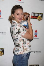 Melissa Benoist at 20th Annual Broadway Barks Animal Adoption Event in New York 2018/07/14 3