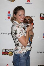 Melissa Benoist at 20th Annual Broadway Barks Animal Adoption Event in New York 2018/07/14 4