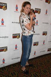 Melissa Benoist at 20th Annual Broadway Barks Animal Adoption Event in New York 2018/07/14 5