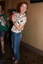 Melissa Benoist at 20th Annual Broadway Barks Animal Adoption Event in New York 2018/07/14 6