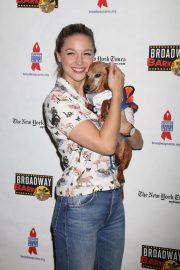 Melissa Benoist at 20th Annual Broadway Barks Animal Adoption Event in New York 2018/07/14 8