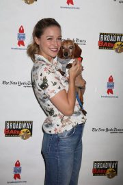 Melissa Benoist at 20th Annual Broadway Barks Animal Adoption Event in New York 2018/07/14 9