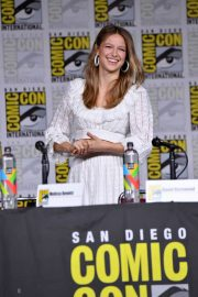 Melissa Benoist at Supergirl Panel at Comic-con in San Diego 2018/07/21 5
