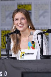 Melissa Benoist at Supergirl Panel at Comic-con in San Diego 2018/07/21 8