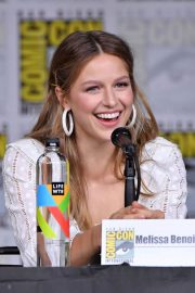 Melissa Benoist at Supergirl Panel at Comic-con in San Diego 2018/07/21 9