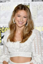 Melissa Benoist at Supergirl Press Line at Comic-con in San Diego 2018/07/21 7