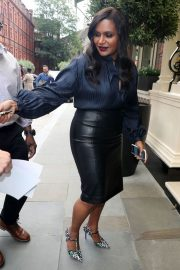Mindy Kaling Out and About in London 2018/06/13 4