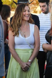 Minka Kelly Arrives at Harry Styles' Concert in Inglewood 2018/04/17 1