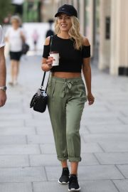 Mollie King Arrives at BBC Radio One in London 2018/07/13 9