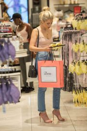 Mollie King Shopping at Boux Avenue Store in London 2018/06/28 1