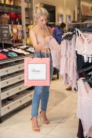 Mollie King Shopping at Boux Avenue Store in London 2018/06/28 5