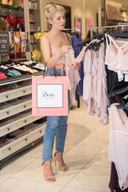 Mollie King Shopping at Boux Avenue Store in London 2018/06/28 8