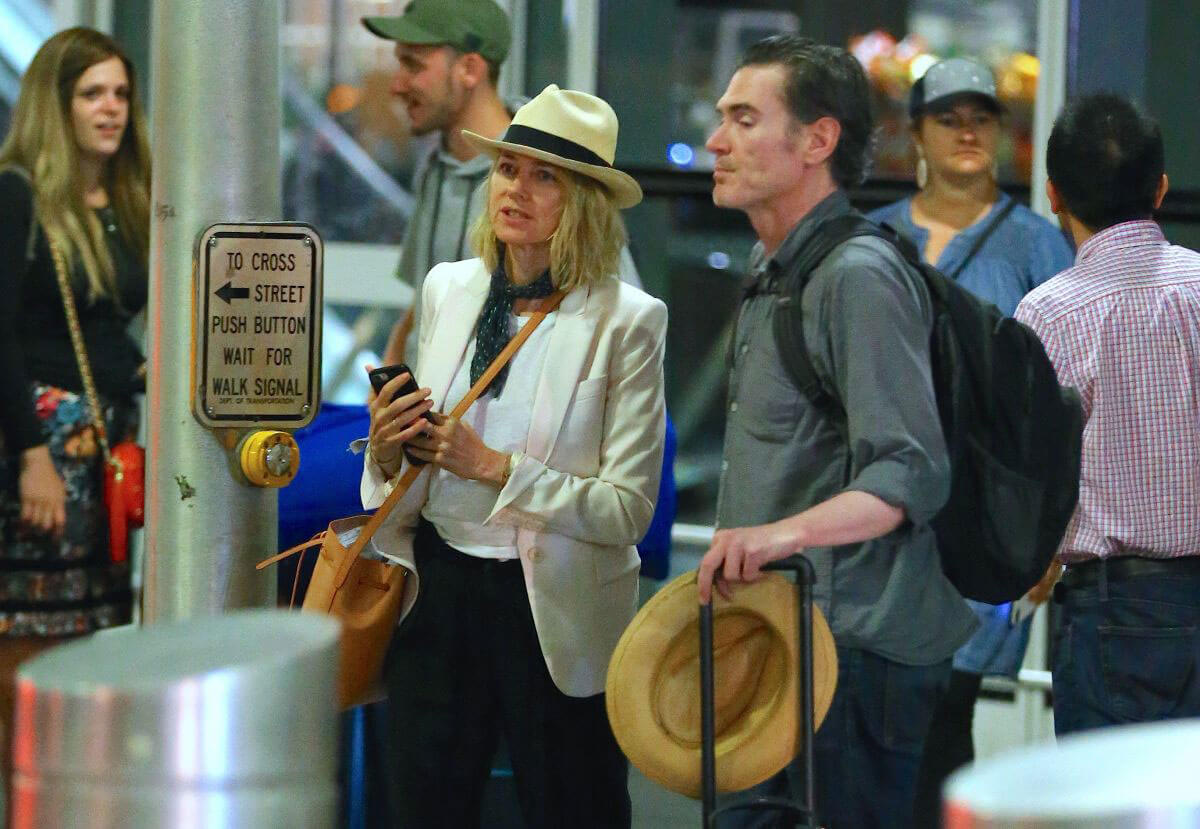 Naomi Watts and Billy Crudup at JFK Airport in New York 2018/07/12 1