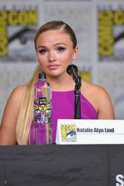 Natalie Alyn Lind at The Gifted Panel at Comic-con in San Diego 2018/07/21 1