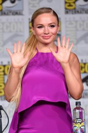 Natalie Alyn Lind at The Gifted Panel at Comic-con in San Diego 2018/07/21 2