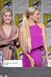 Natalie Alyn Lind at The Gifted Panel at Comic-con in San Diego 2018/07/21 3