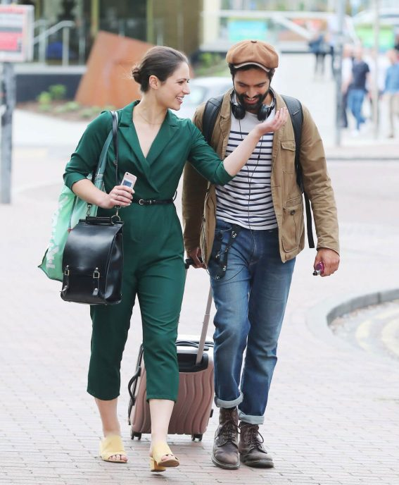 Nicola Torp and Charlie De Melo Out in Manchester 2018/06/13 1