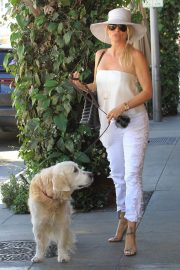 Nicollette Sheridan Out for Lunch at Il Pastaio in Beverly Hills 2018/06/27 4