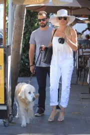 Nicollette Sheridan Out for Lunch at Il Pastaio in Beverly Hills 2018/06/27 5