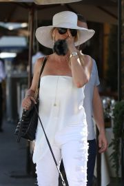 Nicollette Sheridan Out for Lunch at Il Pastaio in Beverly Hills 2018/06/27 7