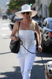 Nicollette Sheridan Out for Lunch at Il Pastaio in Beverly Hills 2018/06/27 12