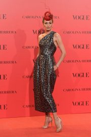 Nieves Alvarez at Vogue Spain 30th Anniversary Party in Madrid 2018/07/12 10