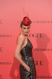 Nieves Alvarez at Vogue Spain 30th Anniversary Party in Madrid 2018/07/12 11
