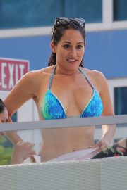 Nikki and Brie Bella and other WWE Stars Filming Total Ddivas in Miami 2018/05/30 32