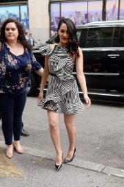 Nikki and Brie Bella Arrives at NBS Studios in New York 2018/05/16 5
