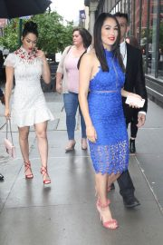 Nikki and Brie Bella Arrives at The Chew in New York 2018/05/17 1