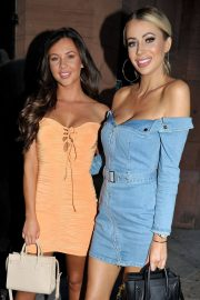 Olivia Attwood and Shelby Tribble at Night Out in Manchester 2018/07/14 3