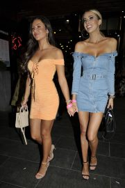 Olivia Attwood and Shelby Tribble at Night Out in Manchester 2018/07/14 13