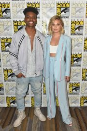 Olivia Holt at Cloak & Dagger Press Line at Comic-con in San Diego 2018/07/21 3