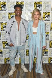 Olivia Holt at Cloak & Dagger Press Line at Comic-con in San Diego 2018/07/21 5
