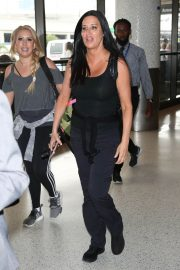 Patti Stanger at Los Angeles International Airport 2018/07/27 1