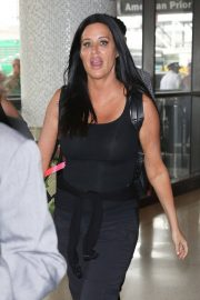 Patti Stanger at Los Angeles International Airport 2018/07/27 2