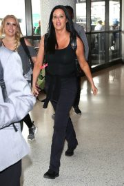 Patti Stanger at Los Angeles International Airport 2018/07/27 3