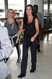 Patti Stanger at Los Angeles International Airport 2018/07/27 5