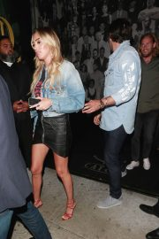 Petra Ecclestone and Sam Palmer at Craig's Restaurant in West Hollywood 2018/06/15 10